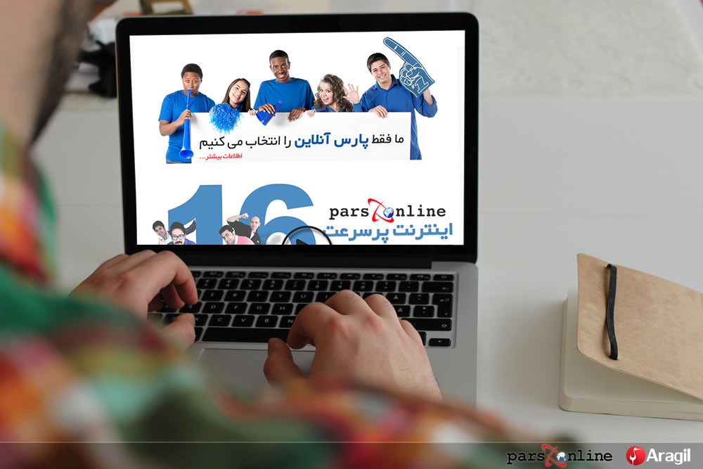 Social Media Marketing for Parsonline in Iran
