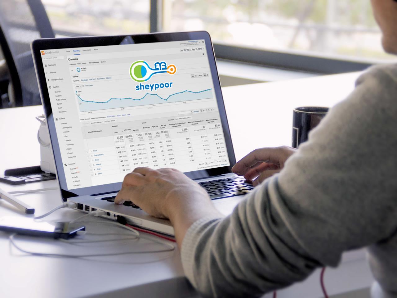 SEO & Social Media Marketing for Sheypoor in IRAN