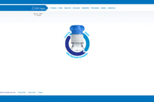 Webdesign for Zolal Mineral Water in IRAN