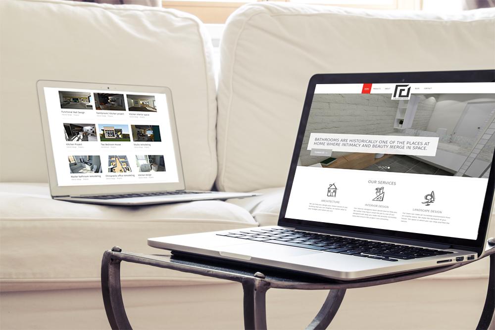 Webdesign for Torossiandesign in Armenia