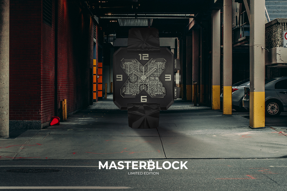 MasterBlock Limited Edition Luxury Swiss watch Blockchain