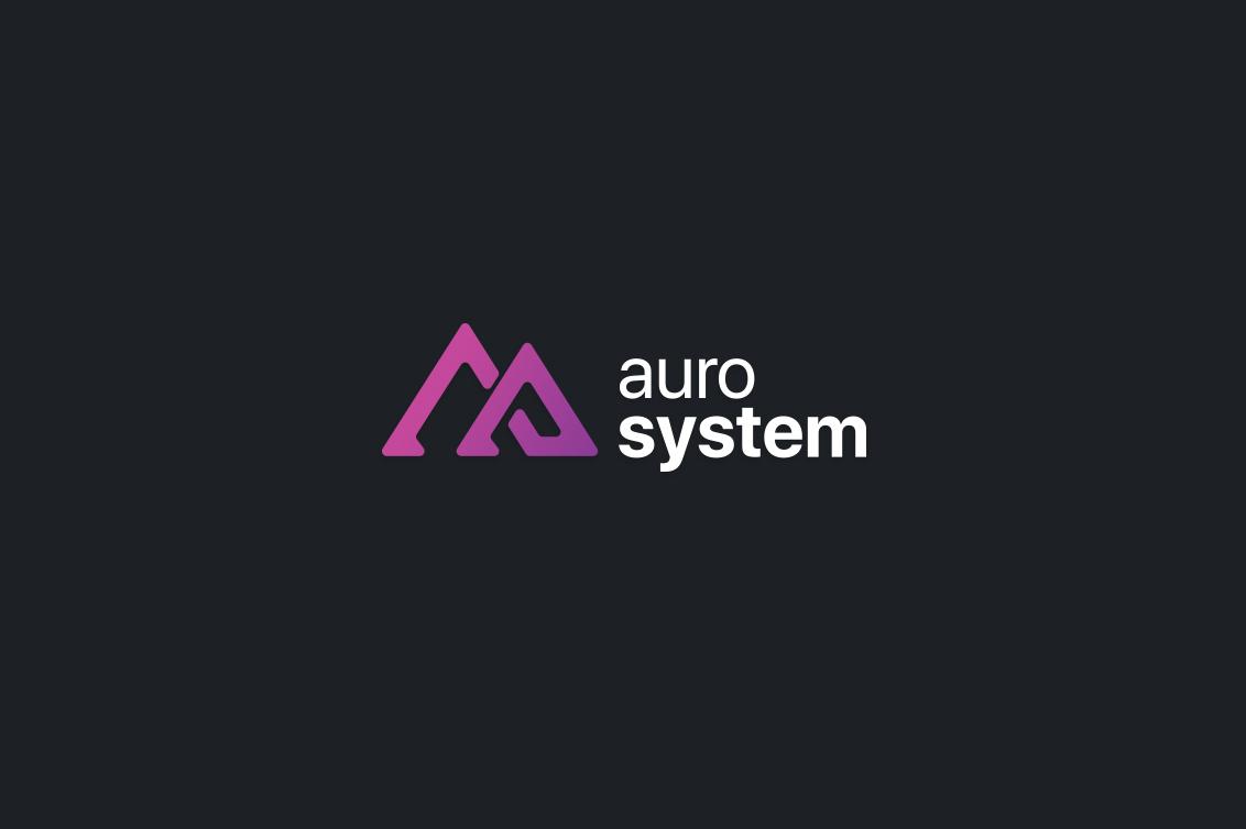 Aurosystem Logo & web design yerevan armenia
